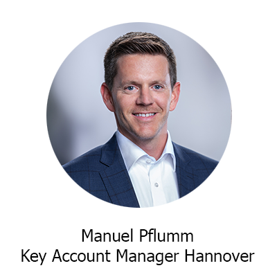 Manuel Pflumm Key Account Manager Hannover